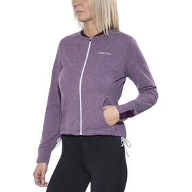 Craft Pep Loose Løbejakke Damer violet